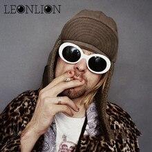 LeonLion 2019 New Oval Sunglasses Women Candy color Sun Glasses Men Vintage Retro Female Male Glasses Oculos De Sol