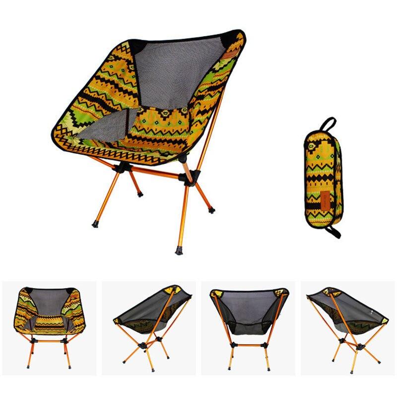 Sillas De Luna ultraligeras, silla portátil de jardín Al pescar, asiento de Director, Camping, muebles plegables extraíbles, sillón indio
