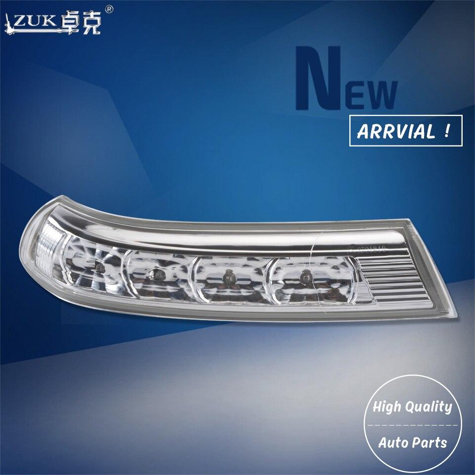 Zuk lado espelho retrovisor led turn signal luz lâmpadas pisca para hyundai santa fe 2010 2011 2012 veracruz 2007 2009 2012