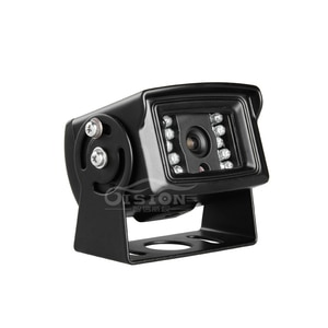 Outdoor Metal 4 Pin 1.3MP Car AHD Camera Reverse Rear View Waterproof IR Camera For Bus Truck Van Non Mirror Image Camera