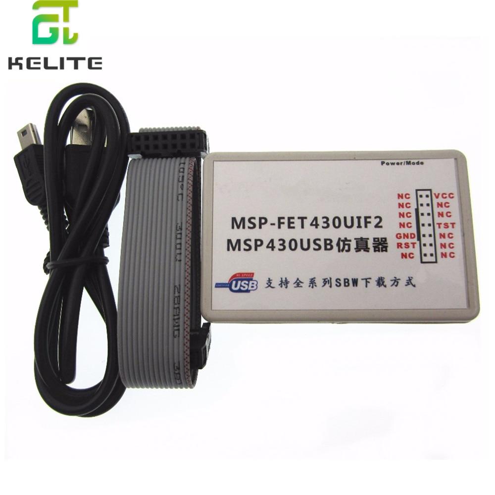 1 مجموعات USB MSP430 محاكاة MSP-FET430UIF2 BSL SBW JTAG التلقائي ترقية البرامج الثابتة الجديدة