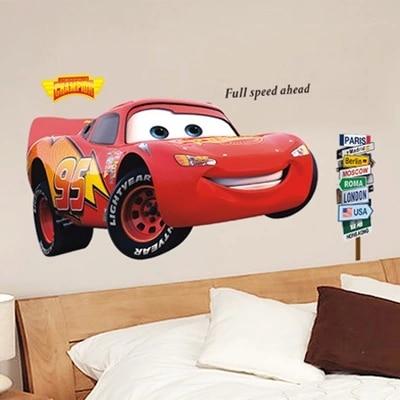 Pegatinas de papel tapiz de pvc para decoración de coche de dibujos animados, pegatinas decorativas extraíbles para TV, papel tapiz para sala de estar o dormitorio, decoración del hogar