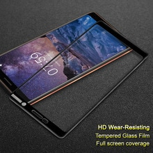 Voor Nokia 7 Plus gehard glas Imak Full screen film volledige cover Anti-crack Fullscreen Voor Nokia 7 Plus Glas Screen protector