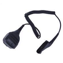 Altavoz con micrófono para Motorola walkie talkie para APX 6000 P25 DP3600 DGP6150 XiR P8200 XPR6550 DP3400 DGP4150 APX7000