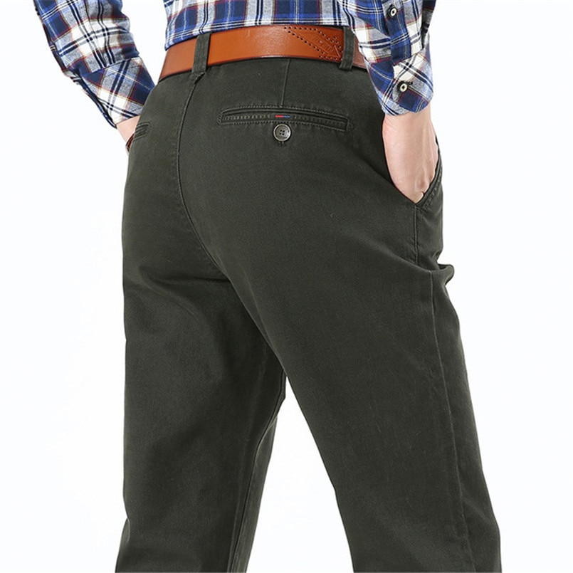 Icوالمقالي-بنطلون كارغو قطني غير رسمي للرجال ، ملابس عسكرية سوداء ، مقاس كبير 34 36 38 40 42