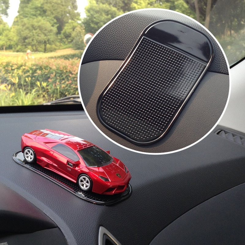 4Pc 13*7cm Anti Non Slip Mat Sticky Gel Pad Accessories Phone Holder Magic Dashboard Silicone Car Gadget Styling Car Accessories