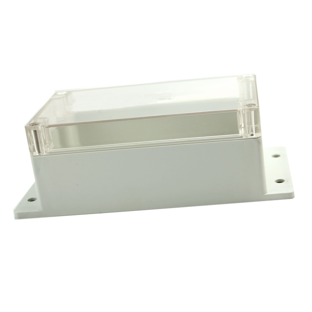 Impermeable 158x90x65mm plástico transparente electrónico proyecto caja carcasa funda