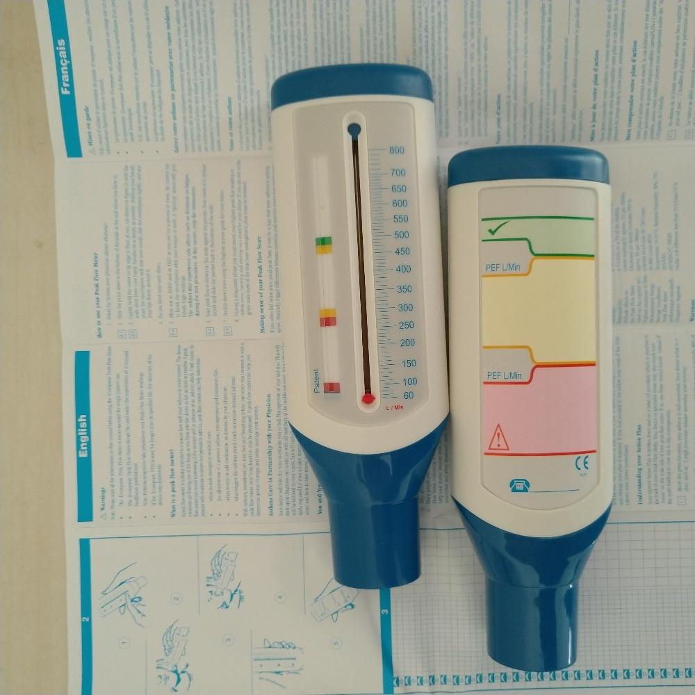 PEF Portable Spirometer Peak Speed Meter Expiratory Peak Flow Meter For Monitoring Lung Breathing Function Adult / Children