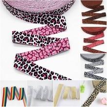 Elastic Bands 2.5cm Rubber Elastic 25mm Leopard Waist Bands Elastique Couture DIY Garment Underwear Trousers Sewing Accessories
