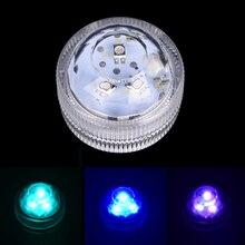 LED Submersible bougie étanche Vase Base 3 LED narguilé lumière pour fête mariage noël nouvel an décoration