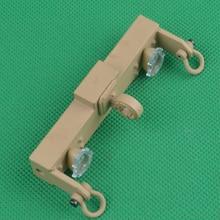 HG P801 P802 1/12 8X8 RC haut-imitatlon US pièces de rechange de camion militaire soutenant lassemblage faisceau anti-collision arrière 8ASS-P0009