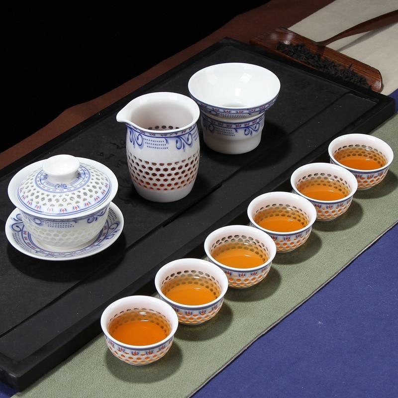 مجموعة شاي الكونغ فو, وعاء سحر الحظ مرة أخرى (كبير) ، صندوق هدايا ، بيع بالجملة