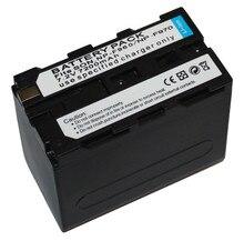 1Pcs 7200mAh NP-F970 Battery NP F970 F960 NP-F960 NP-F950 for Sony CCD-RV1 DCR-VX2100 HDR-FX1 HVR-Z1U LED Flash video light