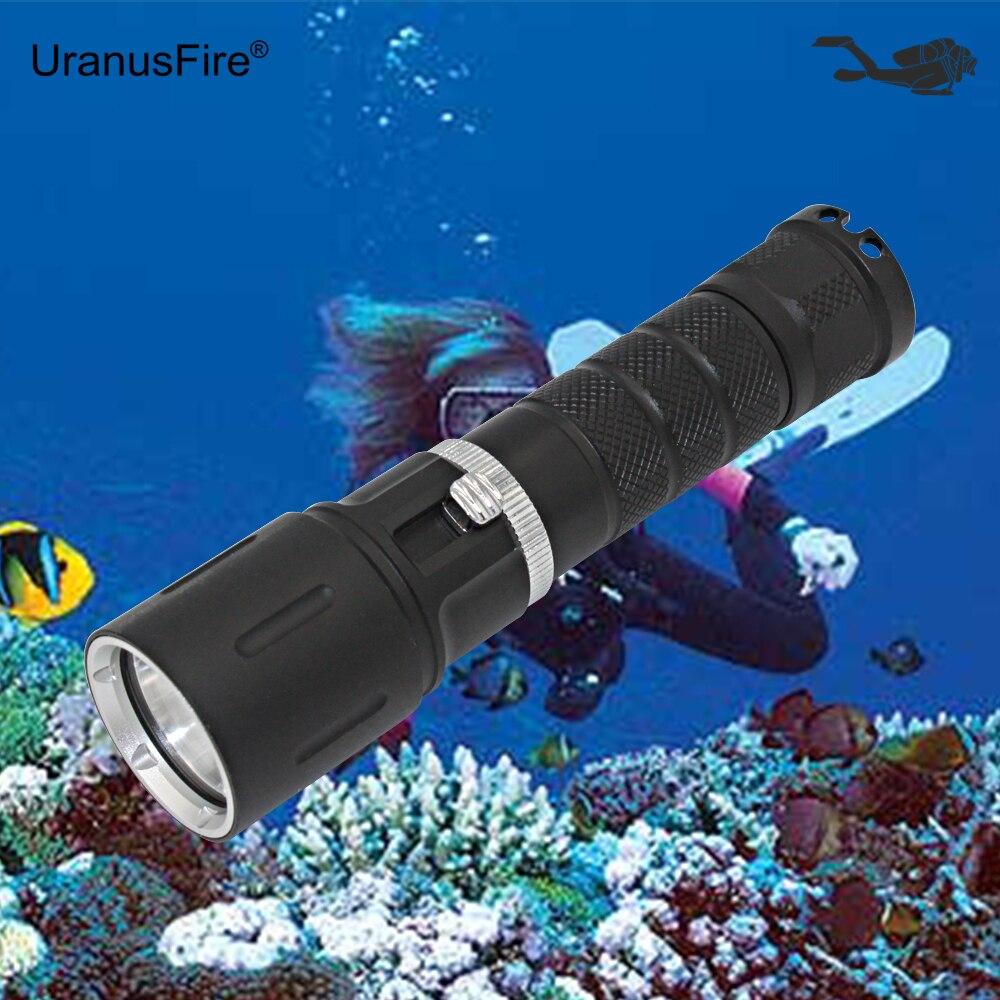 Portable Diving Flashlight L2 LED Flashlight  XM-L2 Scuba Torch Underwater 50M Waterproof Dive Light waterproof 14led portable diving light torch underwater led photography video dive flashlight lamp