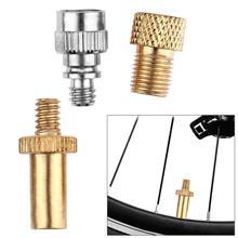 3pcs/set Bike Bicycle Presta to Schrader Valve Adapters+ Presta Valve Extension Pump Tools For Mountain Bike Valve Adaptor Z95