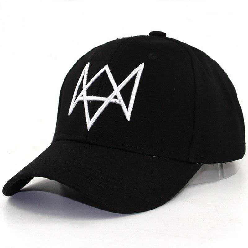 Ver gorros para perros sombrero para Cosplay para hombre Video juegos porque Aiden La Paz tapas ajustable Gorra de béisbol de algodón de alta calidad de moda sombreros