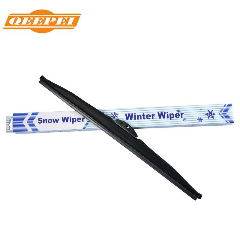 Qeepei inverno neve limpador lâmina u gancho universal de borracha alta qualidade windshield windscreen carro acessórios