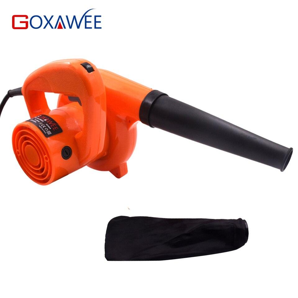Goxawee 600 w ventilador de ar elétrico coletor de poeira ventilação ventilador industrial para remover a limpeza da sujeira para computador