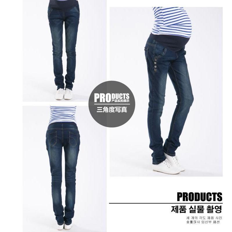 Spodnie Ciążowe jeansowe Spodnie Jeansowe Spodnie Dla Kobiet W Ciąży Ciąża Odzież Laktacja Ropa Para Embarazadas 2017 Ubrania Matki 10