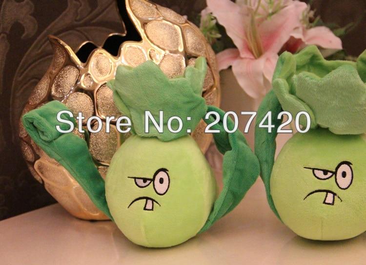 Nuevo plant vs zombies 2th Generación de planta de lechuga juguetes 18cm/7 pulgadas 1 unids/pack