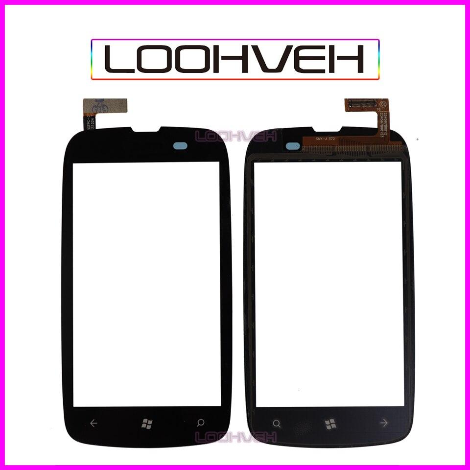 10 unids/lote 3,7 ''para Nokia Lumia 610 N610 pantalla táctil digitalizador Lente...