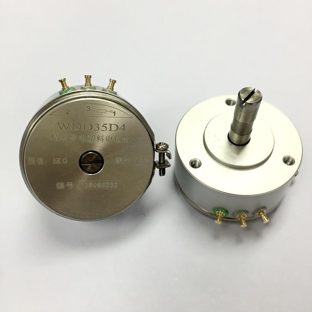 WDD35D4 5K WDD35D-4 0.5% 5K OHM 2W Condutive Plastic Potentiometer
