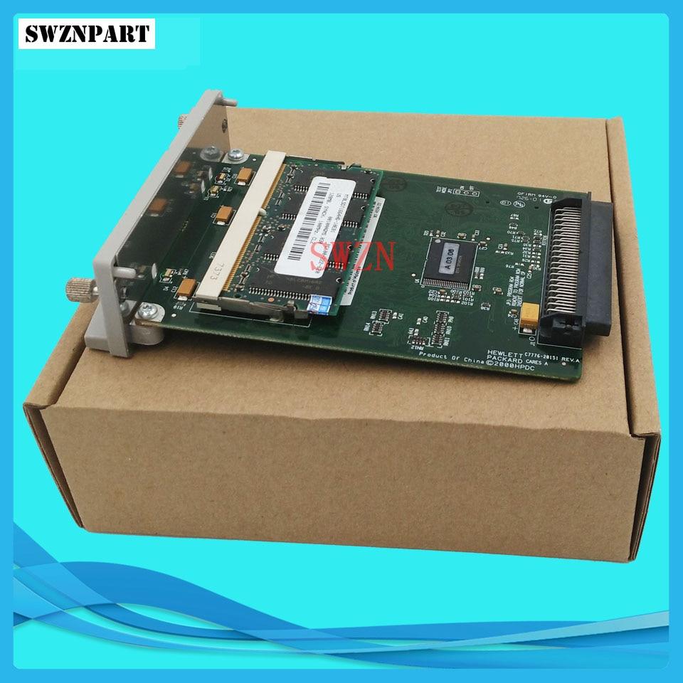 C7776-60151 C7776-60002 C7772A Per HP Designjet 500 500 più GL2 Carta Carta di Bordo Formatter + 128M Correzioni 0509 0510 inchiostro plotter