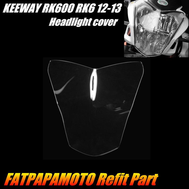 FÜR FÜR BENELLI BJ600GS 10-14 BN600 14 KEEWAY RK600 RK6 12-13 Motorrad Zubehör Scheinwerfer Schutz Schutz abdeckung