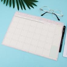 Venta al por mayor dropshipping bloc de papel mensual 20 hojas DIY planificador escritorio Agenda regalo escuela Oficina suministros