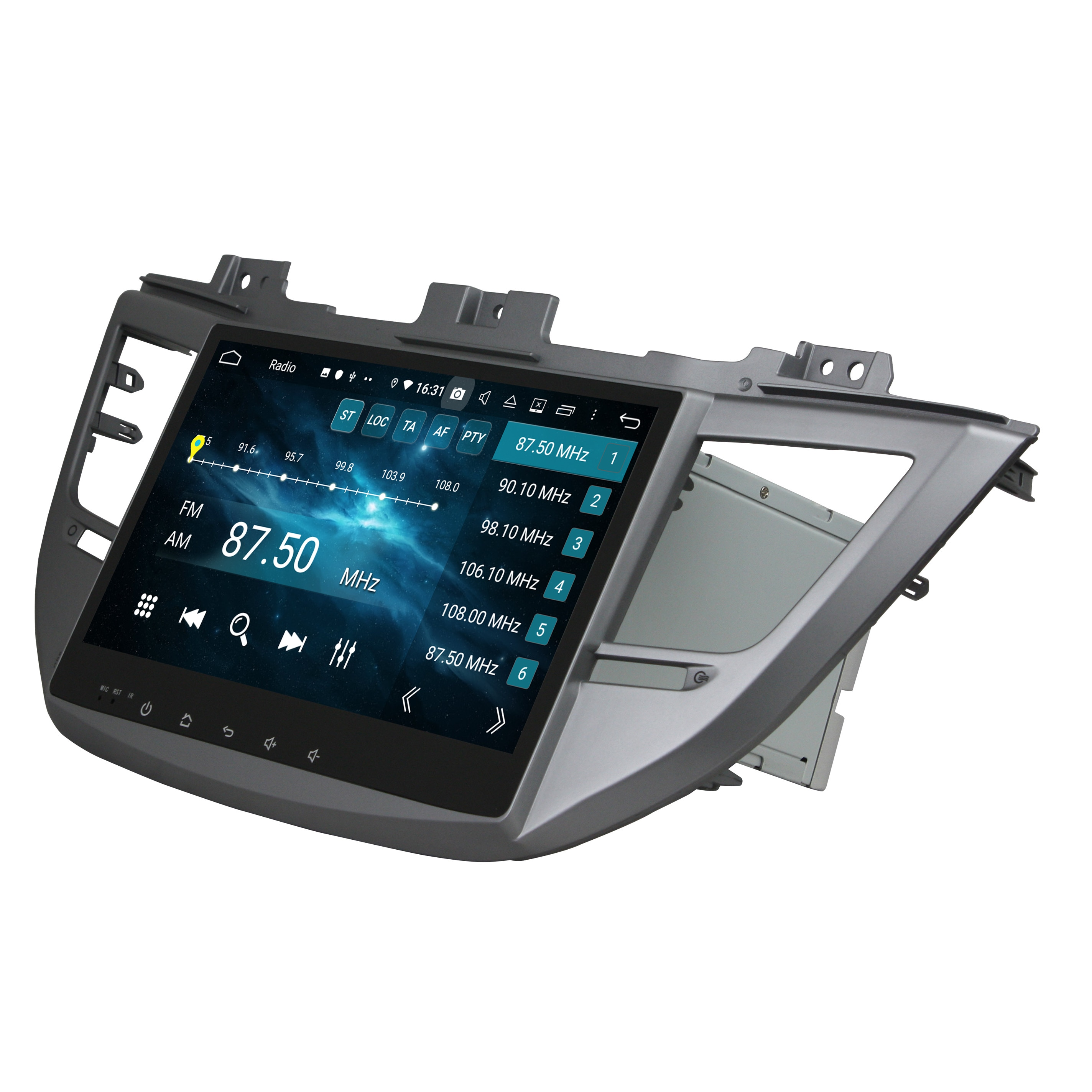 "Android 9.0 Octa Core 10,1 ""Auto Radio DVD GPS für Hyundai IX35 Tucson 2015 2016 2017 2018 4 GB RAM bluetooth WIFI USB 32 GB ROM"