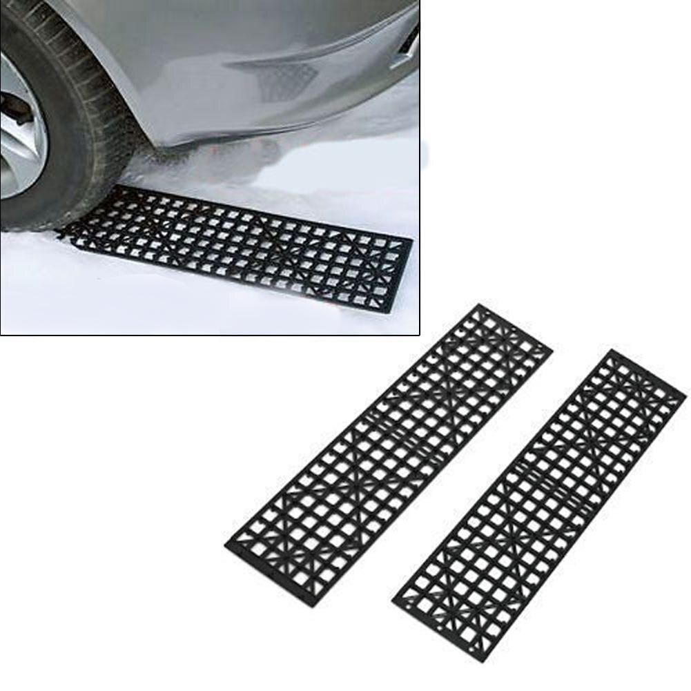 Car Professional Accessories 2PCS Car Off The Hook Plate Tire Skid Plate Self-Driving Off-Road Equipment Slide Anti Skid Carpet