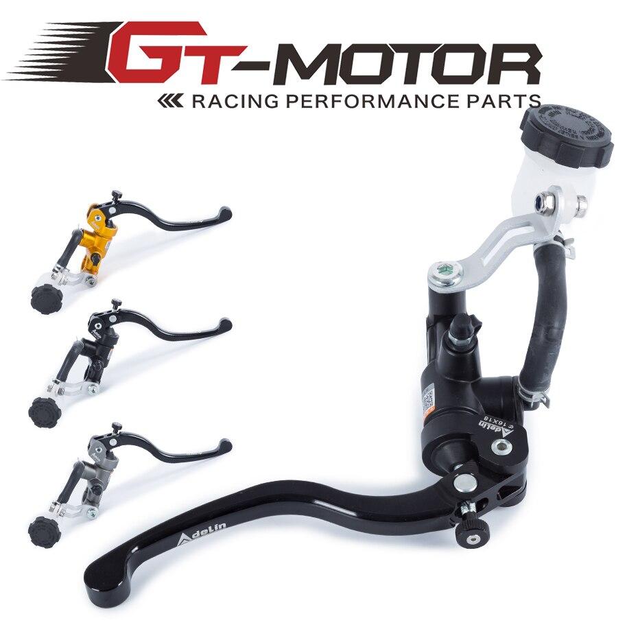 GT المحرك-دراجة نارية 19X18 16X18 الفرامل Adelin ماستر اسطوانة الهيدروليكية لهوندا R1 R3 R6 FZ6 GSXR600 750 1000 ZX-6R Z750 Z800