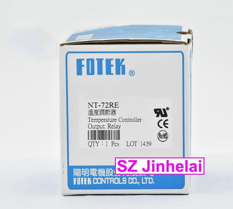 100% أصيلة الأصلي FOTEK متحكم في درجة الحرارة NT-72RE (NT-72E)