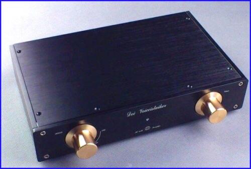 Wanbo alemanha mbl6010d preto ouro premium edição pré-acabado amplificador pré amplificador 265mm * 52mm * 171mm