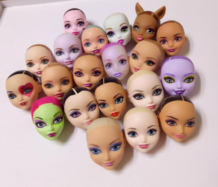 10 шт., очень хорошие высококачественные шарнирные куклы, куклы-монстры, куклы, куклы для девочек, аксессуары «сделай сам», игрушечная кукла