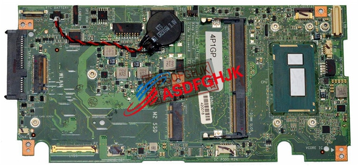 18 Original PARA Dell XPS 1810 Laptop Motherboard COM CPU IMPBW-CS i5-4210U 4P1GP totalmente testado