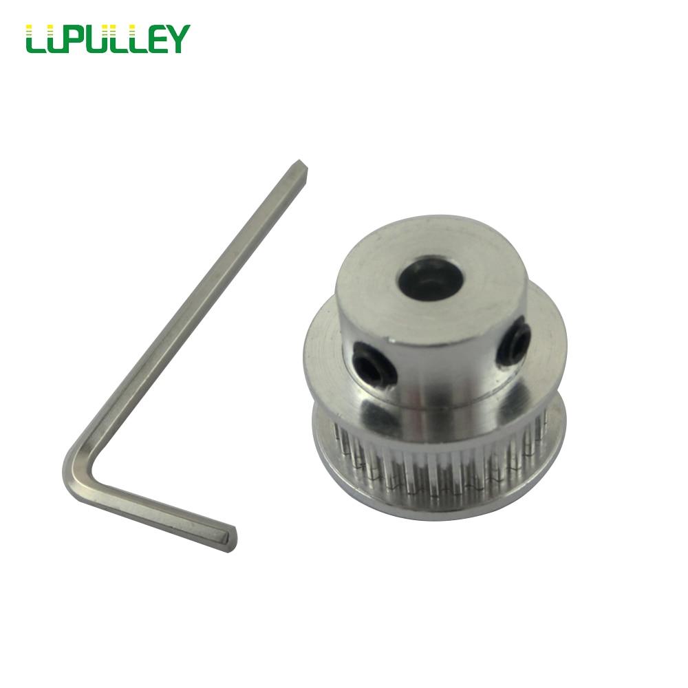 Зубчатый ролик lustelew GT2 40T, диаметр отверстия 5/6/8/10/12 мм, 2GT, 25 Зубцов, шаговый двигатель, ременный шкив для ремня ГРМ шириной 6 мм