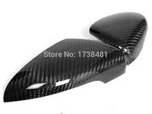 Couvercles de miroirs latéraux Volkswagen   En fiber de carbone véritable, pour ailes VW Scirocco 137 Passat CC 2008-2015 Tsi Dsg R 2.0t 3.6 V6 Z2AAI007