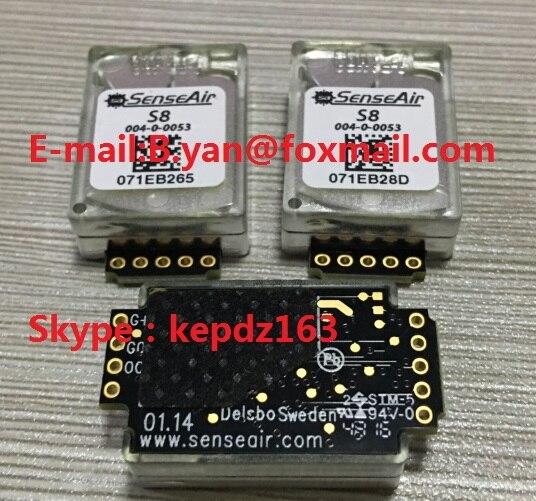 Датчик углекислого газа senseAir S8 004-0-0053, инфракрасный датчик углекислого газа S80053 S8 0053, 1 шт., бесплатная доставка