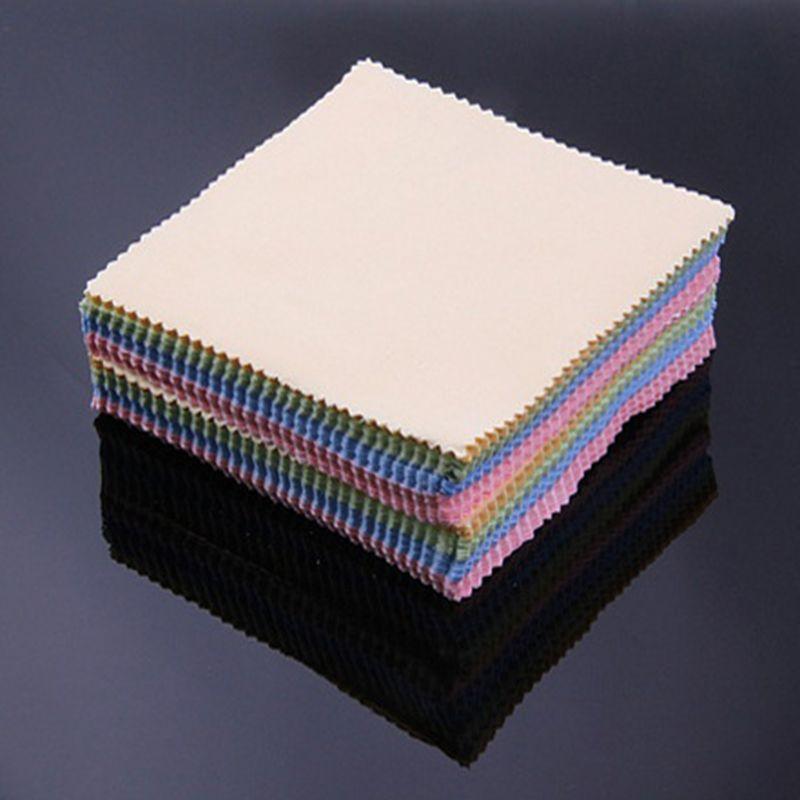 Тканевые салфетки из микрофибры для очистки объективов, 10 шт