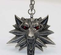 Лидер продаж кулон волшебник Ведьмак 3 медальон кулон ожерелье голова Волка ожерелье U выбрать цвет Хэллоуин ожерелье и подвески