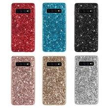 Glitter Case For Samsung Galaxy A51 A71 S8 S9 S10 S20 Plus Ultra A40 A50 A70 A60 A80 A10S Note 8 9 10 Pro J4 J8 J6 Back Cover