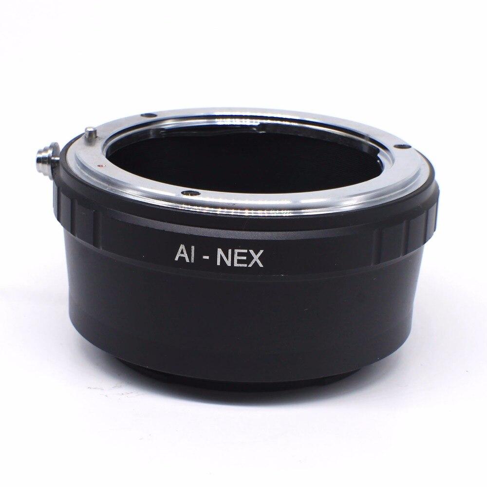 Nueva inclinación AI-NEX para Nikon AI lente de montaje para Sony NEX7 NEX-3 NEX-5 NEX5N NEXC3 VG10 VG20 adaptador