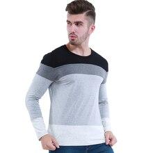 Liseaven Men T-Shirt Cotton tshirt Long Sleeve T Shirt Casual Tee Tops Dropshipping T-Shirts