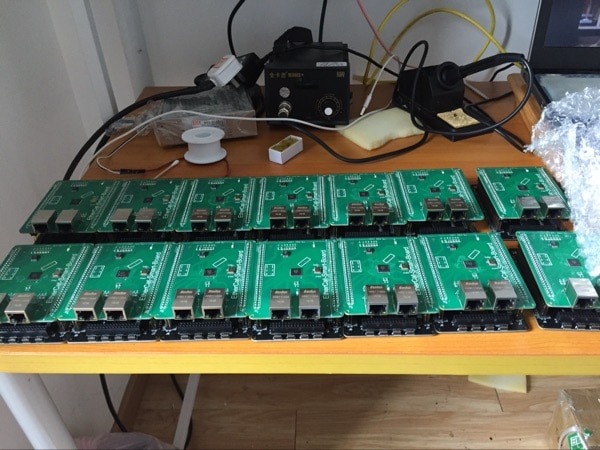 EtherCat STM32F103 + LAN 9252 Bordo Aprendizagem Placa de Desenvolvimento