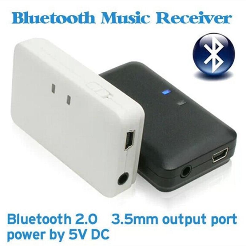 H-166 Bluetooth receptor de música soporte iPhone Bluetooth teléfono celular Bluetooth PC Bluetooth inalámbrico 3,5mm adaptador de altavoz de Audio