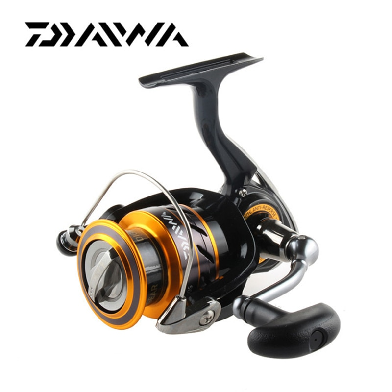 Daiwa Originais MISSÃO CS 2000S 2500S 3000 4000S Molinete de Pesca Carretel Relação De Transmissão De Baixa 5.3 1 4BB LC-ABS Metail Spool reel
