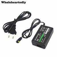 Сетевое зарядное устройство с вилкой Стандарта ЕС/США, 5 В, источник питания для Sony PlayStation Portable PSP 1000 2000 3000, зарядный кабель, шнур
