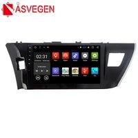 asvegen 10 2 inch 2din android 7 1 hd otca core car navigation stereo multimedia player auto gps radio for toyota corolla 2014