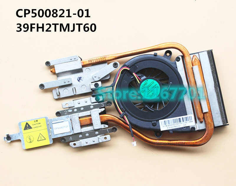 Laptop/Notebook CPU cooling Radiator Heatsink&Fan for Fujitsu LifeBook AH530 A530 FMVA533AW CP500821-01 39FH2TMJT60 AD5605HX-JD3